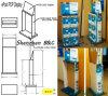 Sound Recorder carton Présentoir, Compteur papier Support, Unibody Support étagère (B & C-A061)