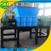 Basura del plástico/madera/sólida/chatarra/espuma/desfibradora usada neumático con de dos ejes en China