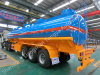 Ctac Brand 세 배 Axles 6compartments 36000liters Fuel Tanker Semi Trailer
