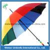 Способа цветастый радуги зонтик подарка промотирования прямо автоматический открытый