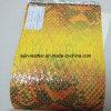 Tissu en cuir synthétique de peau de serpent (ZY-38)