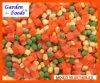 Vegetais misturados Frozen.