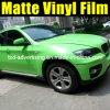 Vinile verde mela del cambiamento di colore dell'involucro dell'automobile del Matt