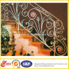 Pasamano de acero más vendido decorativo de la escalera