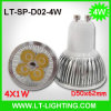 4X1w LED Spot Light (LT-SP-D02-4W)