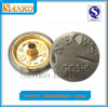 Forma Design Brass Snap Button com Logo (SK-N571)