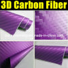 Purpurrotes 3D Carbon Fiber Film