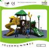 Campo de jogos temático das crianças da floresta pequena de Kaiqi com corrediças (KQ20015A)