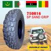 China marca o pneumático do aperto 750r16 da areia da qualidade