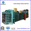 Horizontal automático Automatic Waste Paper Baler Machine con Conveyor