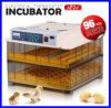 Termóstato automático marcado de la incubadora del mini CE de 96 huevos del termóstato de la incubadora