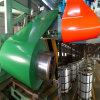El color del material de construcción PPGI cubrió la bobina de acero prepintada aprobada JIS3301