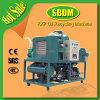 Máquina inútil del purificador del aceite lubricante de Kxp, purificador del aceite lubricante