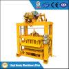 Bloques económicos simples del cemento del bloque Qtj4-40 que hacen la máquina, máquina hueco concreta del bloque de cemento