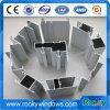 Perfis de alumínio personalizados do preço de fábrica para Windows deslizante