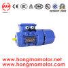 Motor de CA/motor de inducción electromágnetico trifásico del freno con 0.09kw/4poles