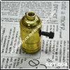De gouden-Gekleurde Lamphouder van de roterende Schakelaar (szt-004)