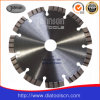 150mm diamante cortante de la cuchilla: Laser Turbo Hoja de sierra segmentada