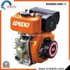 Wd178 pequeño motor diesel refrescado aire 7.0HP para los generadores y las bombas de agua etc. de Deisel