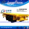 반 중국 공급자 3 차축 선적 컨테이너 평상형 트레일러 트레일러