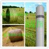 rete della balla di bianco di 3000m x di 1.23m per il silaggio dell'azienda agricola