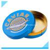 Metallisches Zinn Box_for, das Kaviar 500g verpackt