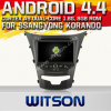 A9 Chipset 1080P 8g ROM WiFi 3G 인터넷 DVR Support를 가진 Ssangyong Korando 2014년을%s Witson Android 4.4 Car DVD