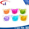 Bunte Basisrecheneinheits-Form Tealight Glaskerze-Halter (CHZ8011)