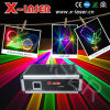 лазерный луч одушевленност полного цвета 1W RGB (X-RGB710)