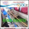 Machine d'expulsion simple de bordure foncée de PVC