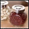 Bohnen-Glasspeicher-Glas/freies facettiertes Glas/Teigwaren-Glas-Glas
