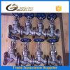Dn80 robinet d'arrêt sphérique de l'acier inoxydable 316 pour la vapeur