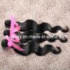 Pelo humano brasileño de la Virgen de la extensión del pelo humano