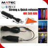Der Auto-LKW-schneller Freigabe-Montierungs-LED heller Stab Markierungsfahnen-Licht RGB-der Station-3m der Verdrahtungs-LED