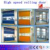 Portello di sollevamento della turbina di alluminio ad alta velocità, portello di sollevamento veloce, portello di industria, portello ad alta velocità, portello di laminazione, portello veloce