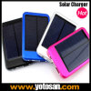 5000mAh Dual USB Solar Panel Power 은행 External Battery Pack Charger Mobile Phone
