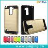 더하기 LG K3 첨필 2를 위한 솔질된 잡종 전화 상자