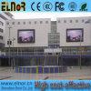 Risparmio di energia multicolore P10 che fa pubblicità allo schermo di visualizzazione esterno del LED