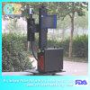 marcação do laser da fibra de 20W 30W para a tubulação do plástico de PP/PVC/PE/HDPE