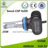 Piezas de automóvil 9-32V H11 universal 4000lm de la linterna del coche del LED