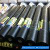Estera plástica del control de Weed del pajote del color negro agrícola