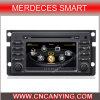 A8 Chipset Dual Core 1080P V-20 Disc WiFi 3G 인터넷 (CY-C087)를 가진 Merdeces Smart를 위한 차 DVD