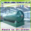 Dell'impianto di pirolisi del pneumatico usato impianto libero di alta qualità