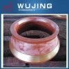 Broyeur élevé de bloc moulé d'acier de manganèse d'équipement minier concave