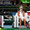 Bancos do tênis do Courtside com os toldos 2PCS (TP-078)