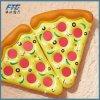 Flotteur de flottement gonflable de syndicat de prix ferme de pizza de rangée