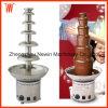 Vente professionnelle de fontaine de chocolat de la Chine de 6 rangées pour le restaurant de buffet
