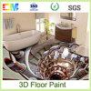 La resina líquida 3D líquido de la decoración casera suela la capa