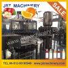 Machine de remplissage de bouteilles d'animal familier de jus de fruits frais/centrale/ligne