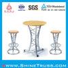 Rest를 위한 대중적인 Aluminum Bar Desk와 Bar Chair